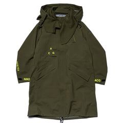 NikeLab ACG Gore-Tex Coat Oil Canvas/Volt Glow, Jackets
