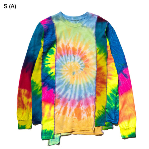 Needles Rebuild by Needles 5 Cuts L/S Tee Tie Dye, T-Shirts