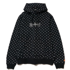 SOPHNET. Polka Dot Pull Over Parka Black, Jackets