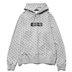 SOPHNET. Polka Dot Pull Over Parka Gray, Jackets