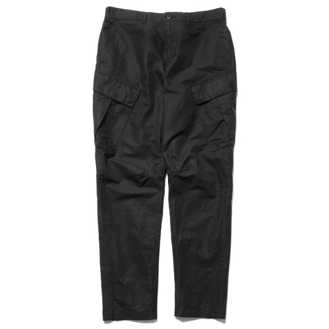 2a80b10326 Stone Island Shadow Project Cotton Linen Canvas Garment Dyed Cargo Pant  Black, Bottoms