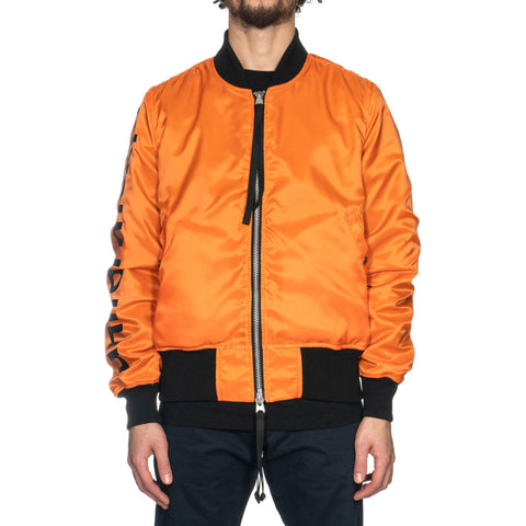 Uniform Experiment Graphic Reversible MA-1 Black, Jackets