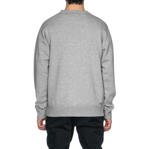 Uniform Experiment Ventilation Crewneck Sweat Gray, Sweaters