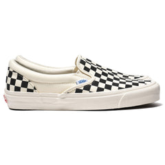 Vans Vault OG Classic Slip-On (Canvas) Checkerboard, Footwear