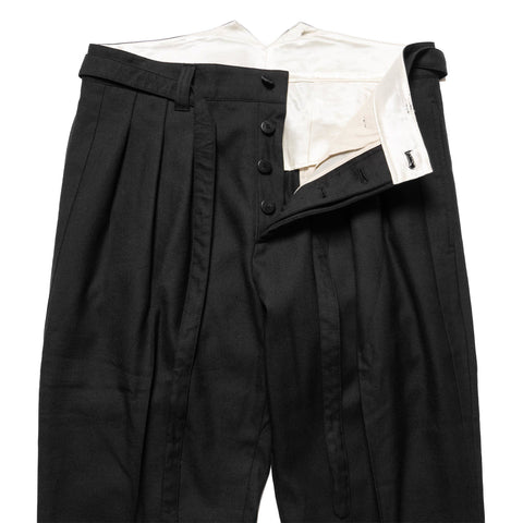 visvim Hakama Pants (W/L) Black, Bottoms