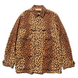 Leopard Fatigue Jacket -B- (Type-1) Beige