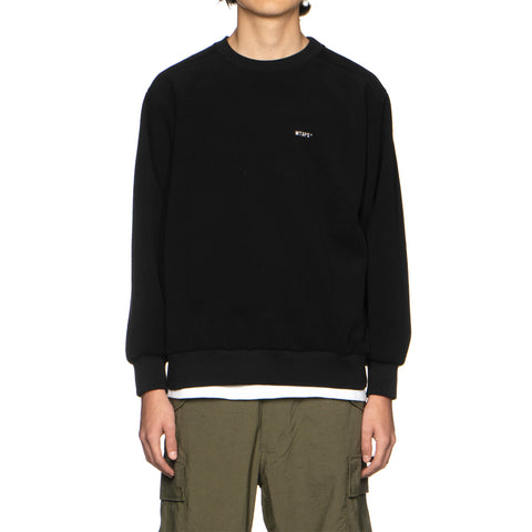 WTAPS Downy / Sweatshirt. Poly Black, Sweaters