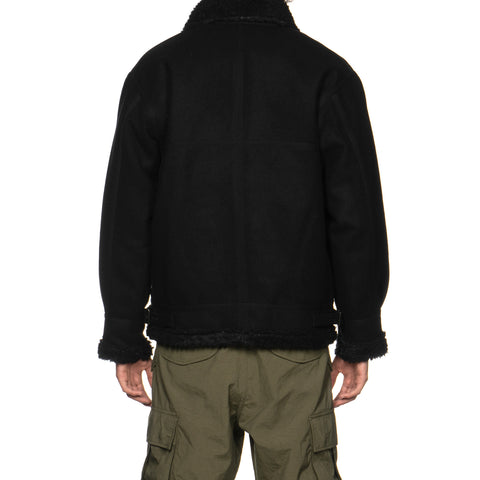 WTAPS Ovis / Jacket. Wony. Melton Black, Jackets
