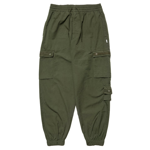 WTAPS Smock / Trousers. Cotton. Ripstop Olive Drab, Bottoms