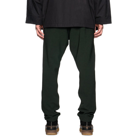 Needles Warm-up Pant Poly Double Cloth Green, Bottoms