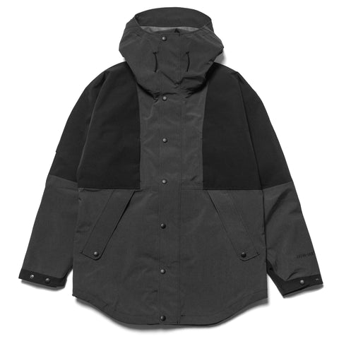fa06fd6720fa25 nonnative Alpinist Hooded Jacket N P Taffeta With GORE-TEX Charcoal Black,  ...
