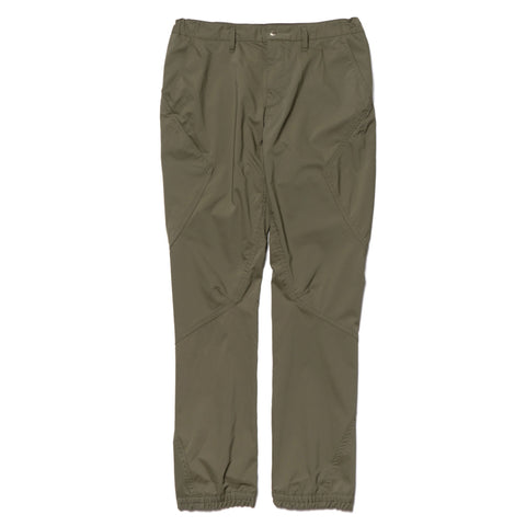 nonnative Cyclist Easy Rib Pants Tapered Fit Poly Twill PLIANTEX Olive, Bottoms
