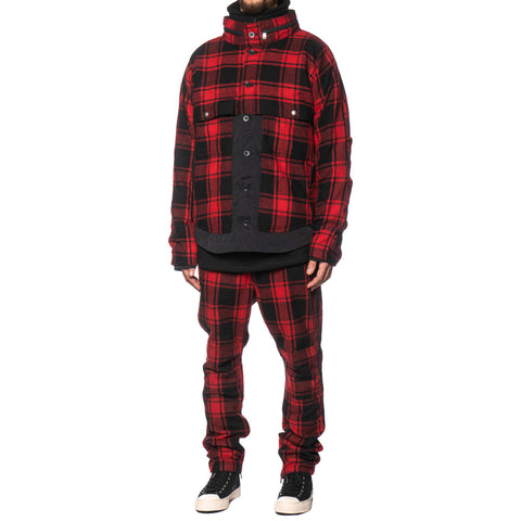 f78a587546 ... Jackets nonnative Feller Jacket W P A N Buffalo Plaid Red