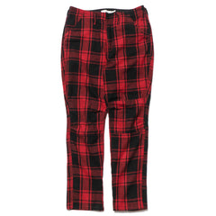 nonnative Hiker Trousers Dropped Fit W/P/A/N Buffalo Plaid Red, Bottoms