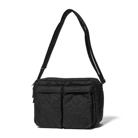 HEADPORTER Hexham Series Shoulder Bag (L) Black