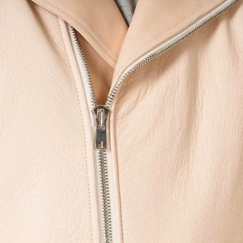 Hender Scheme Leather Jacket Natural