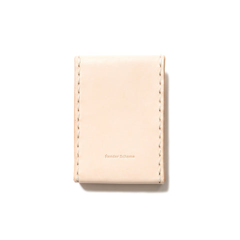 hender scheme Tiny Envelope Card Case Natural