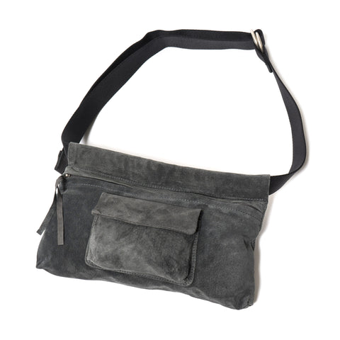 hender scheme Waist Belt Bag Wide Dark Gray