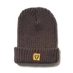 Human Made HMMD Beanie Brown