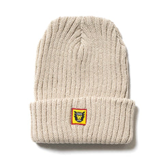 Human Made HMMD Beanie White