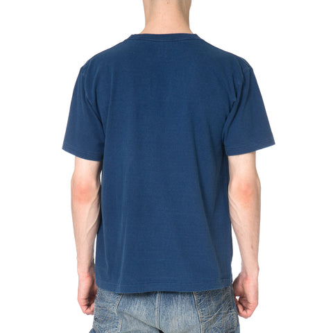 Human Made Indigo T-Shirt Polar Bear