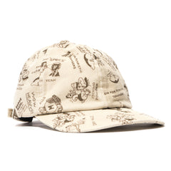 Human Made Patchwork Cap White