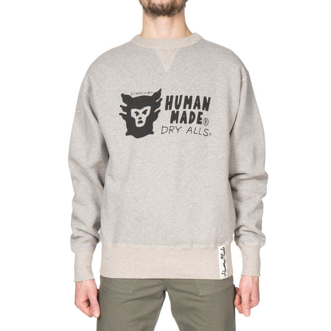 human made Sweat Shirt Gray