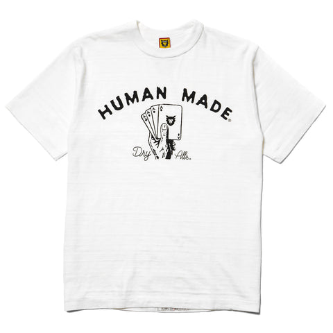 HUMAN MADE T-Shirt #1206 White