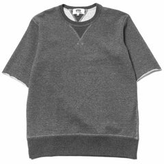 Junya Watanabe MAN Cotton Back Pile Tee Charcoal
