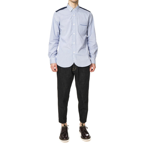 Junya Watanabe MAN Cotton Check x Cotton Twill Shirt