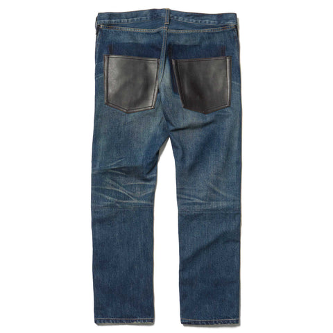Junya Watanabe MAN Cotton Denim x Cotton Raised Pant