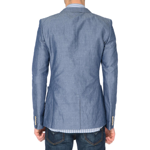 Junya Watanabe MAN Cotton Linen Chambray Jacket