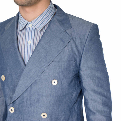 Cotton Linen Chambray Jacket