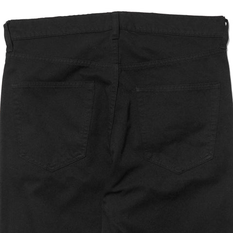 Junya Watanabe MAN Cotton Polyester Twill Garment Treated Pant Black