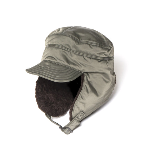 Junya Watanabe Nylon Twill Flight Hat Sage Green