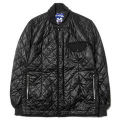 Junya Watanabe MAN Synthetic Leather Quilting Jacket