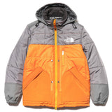 x The North Face Sleeping Bag Jacket Gray x Orange