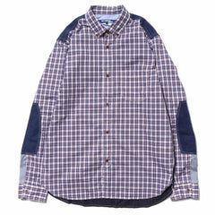 Junya Watanabe MAN Cotton Check x Cotton Flannel Check Shirt