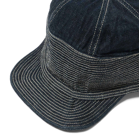 kapital 12oz Denim New Hike Cap