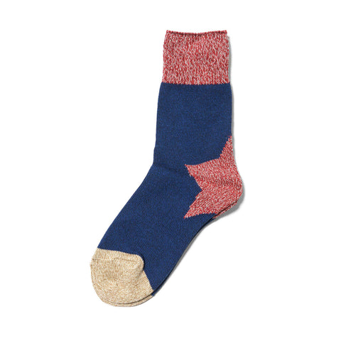 kapital Apollo Heel Socks Blue