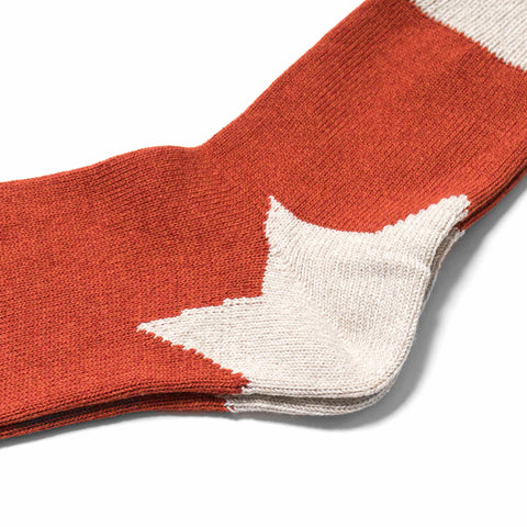 kapital Apollo Heel Socks Red