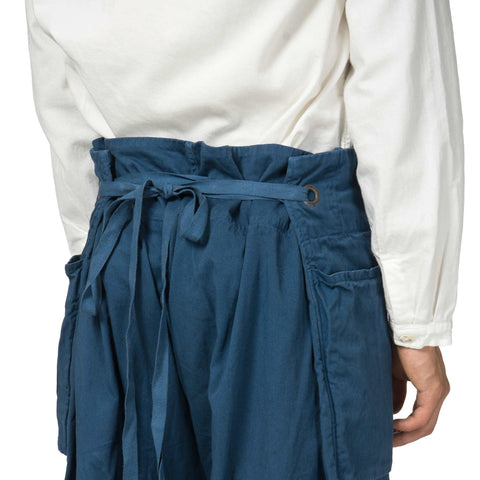 KAPITAL Cotton Twill Garden Pants Navy