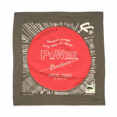 KAPITAL Fastcolor Selvedge Bandana (Power)