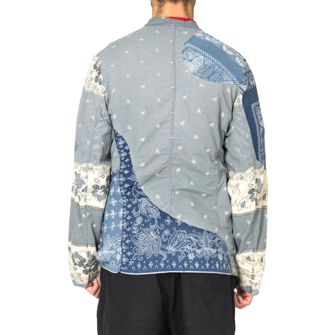 KAPITAL KOUNTRY Rockwell Cloth French Work Jacket (Bandana Remake) Blue