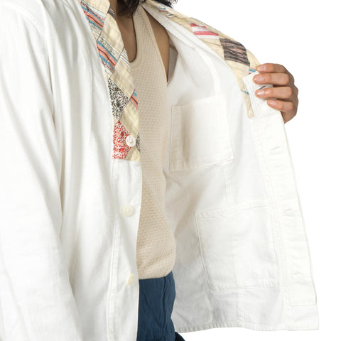 KAPITAL KOUNTRY Soft Cotton Twill x Quilt Remake Bonze Hiyoku Shirt
