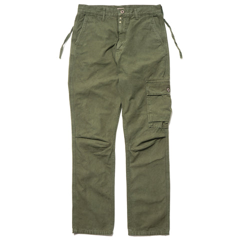 Kapital Light Canvas Ringoman Cargo Pants Khaki