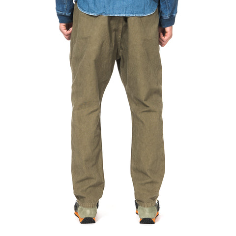 KAPITAL Light Canvas Sarouel Nouvelle Pants Khaki