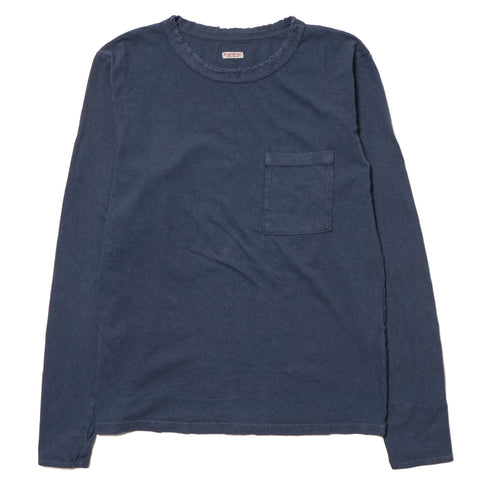 KAPITAL Tenjiku Crush Crew Long T