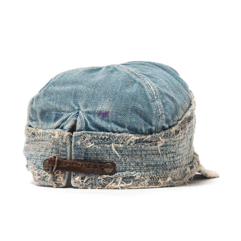 KAPITAL KOUNTRY Denim The Old Man And The Sea Cap (Crush Remake)