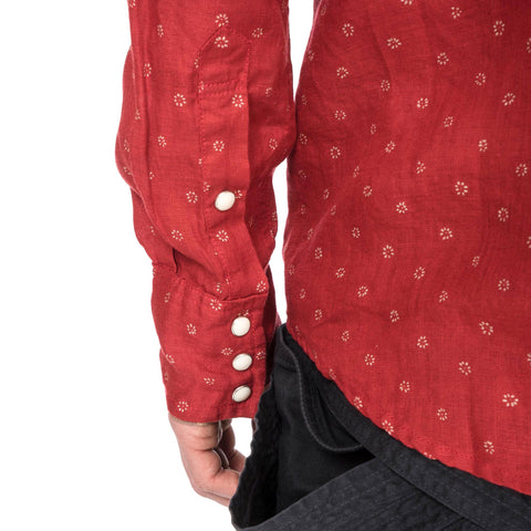 KAPITAL Turkey Red Cloth Sukiyaki Western Shirt